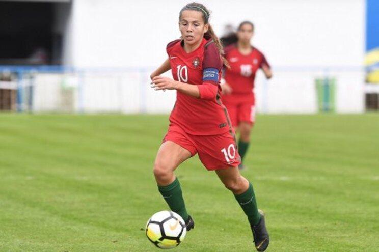 Maria Negrão, de 16 anos, foi convocada para a seleção nacional feminina