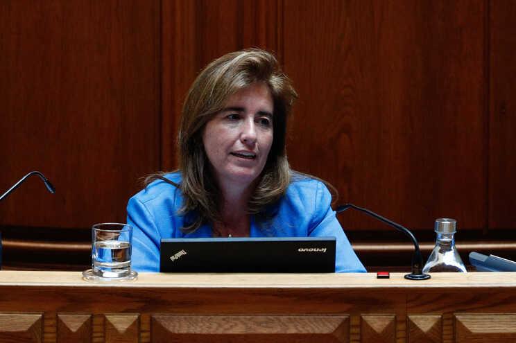 Ana Mendes, ministra do Trabalho, Solidariedade e Segurança Social