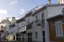 Queda de andaime atingiu habitações na Rua de Luz Soriano