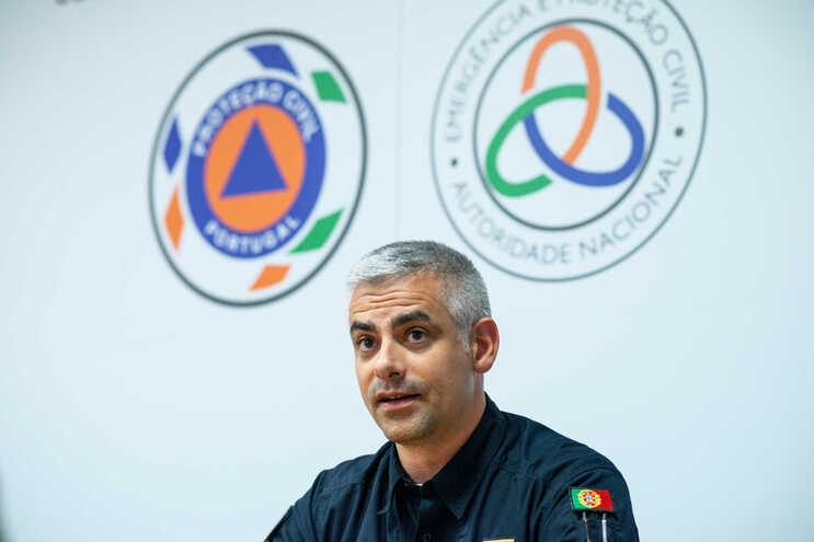 Comandante da Autoridade Nacional de Emergência e Proteção Civil, André Fernandes