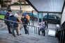 Porto, 22/02/2021 -  Acessibilidade difícil para pessoas de mobilidade reduzida ao Centro de Vacinação