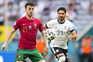 Alemanha dá a volta e chega ao intervalo a vencer Portugal