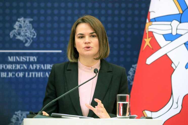 líder da oposição bielorrussa, Svetlana Tikhanovskaya