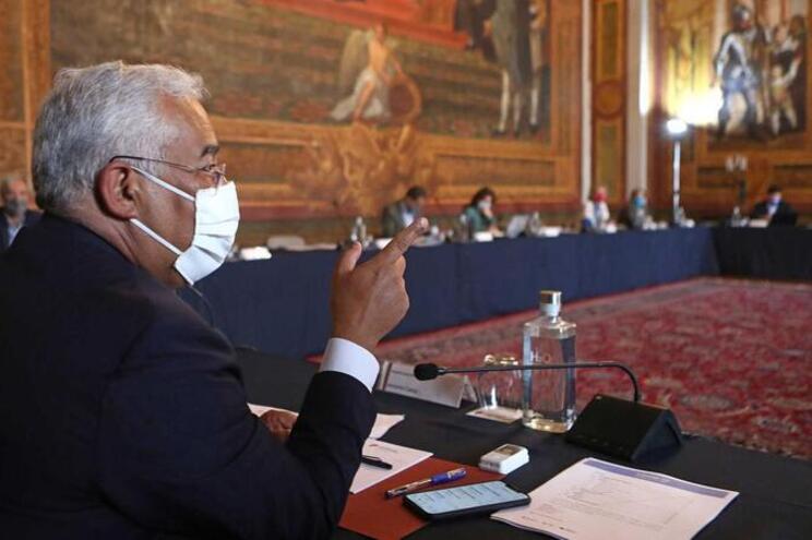 Reunião decorre no Palácio da Ajuda, em Lisboa