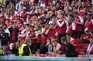 Christian Eriksen vai ser homenageado pelos adeptos ao minuto 10 do jogo da Dinamarca com a Bélgica