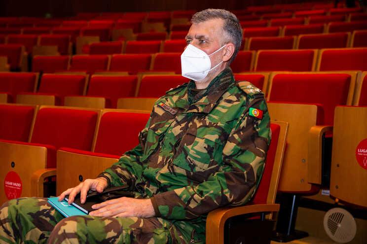 O coordenador da Task Force do Plano de Vacinação contra a Covid-19, Vice-Almirante Henrique Gouveia