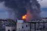 Ataques aéreos em Gaza