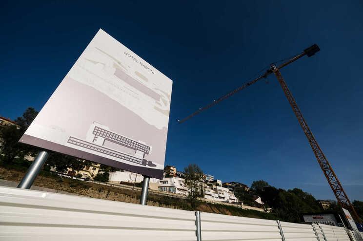 Obras do Hotel Nasoni estão na fase inicial