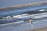 Praia da Barra sem enchente no primeiro sábado de novo confinamento