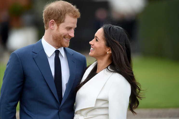 Harry e Meghan Markle estão a viver nos EUA