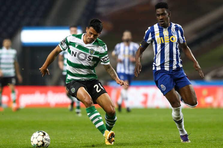 F. C. Porto e Sporting empataram este sábado