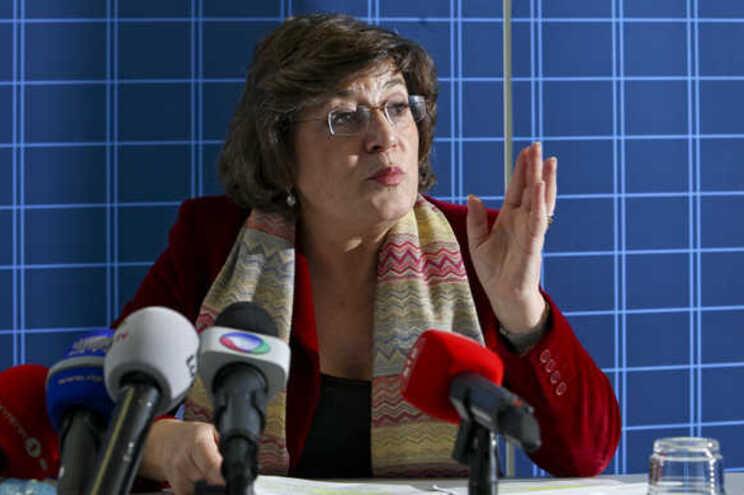 A eurodeputada Ana Gomes