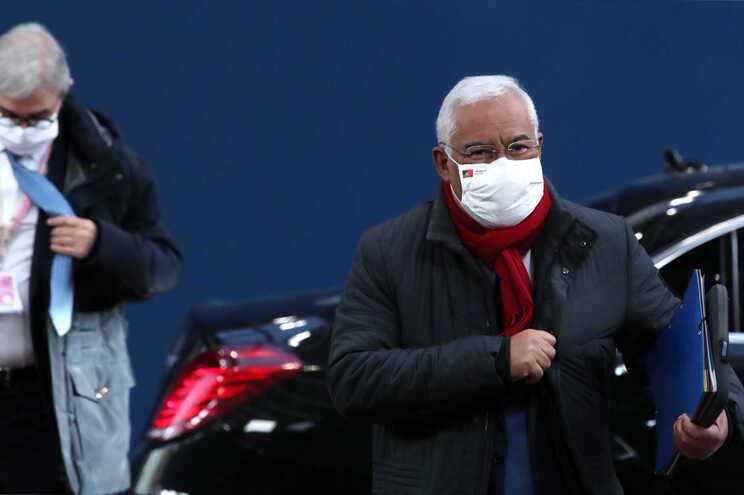 António Costa está em Bruxelas