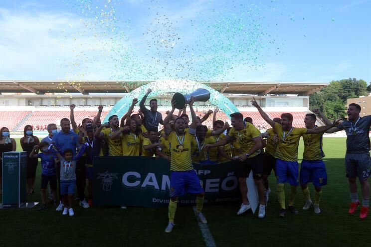 Gondomar B foram os campeões de 2020/21 da Divisão de Elite
