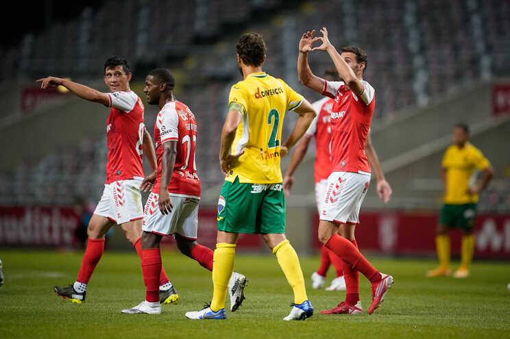 O Braga venceu este sábado o Paços de Ferreira