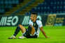 Desilusão dos jogadores do Farense pela descida à Liga 2