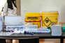 Profissional de saúde está infetada com o novo coronavírus