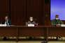 O presidente do Infarmed, Rui Ivo, a diretora-geral da Saúde, Graça Freitas, e o coordenador da task-force
