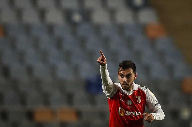 Futebolista Ricardo Horta, do Braga