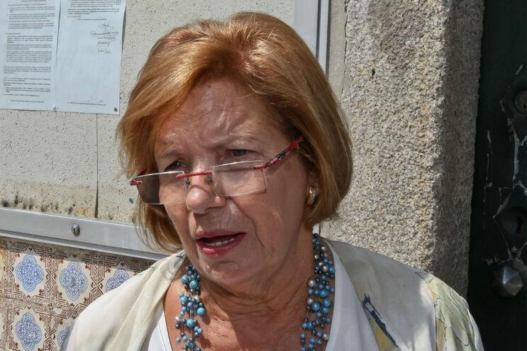 Vereadora da CDU, Ilda Figueiredo