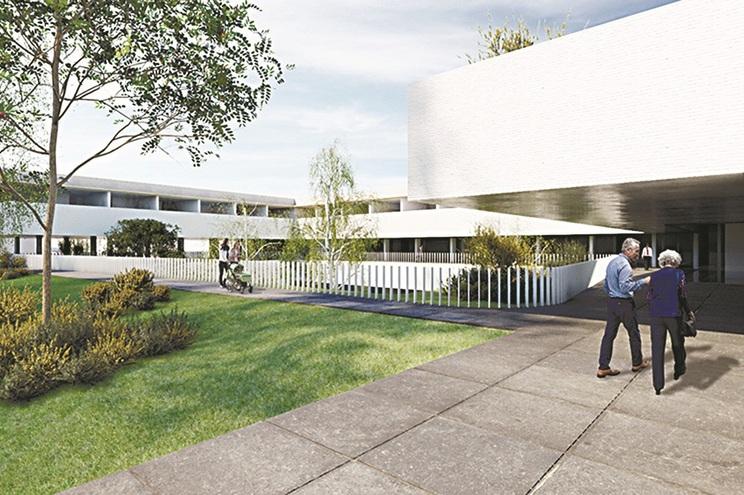 Imagem virtual do gabinete de arquitectura Inbicta, responsável pelo novo projeto da Liga Portuguesa