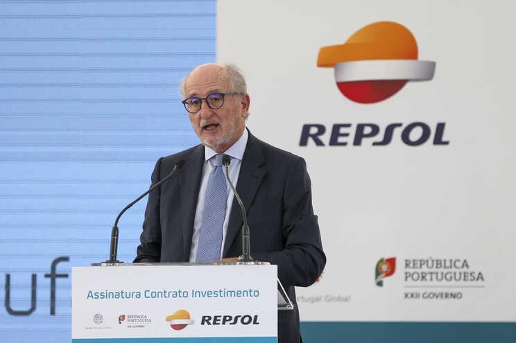 Presidente da Repsol, António Brufau