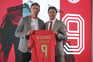 Avançado uruguaio Darwin Nuñez assinou pelo Benfica e foi apresentado oficialmente