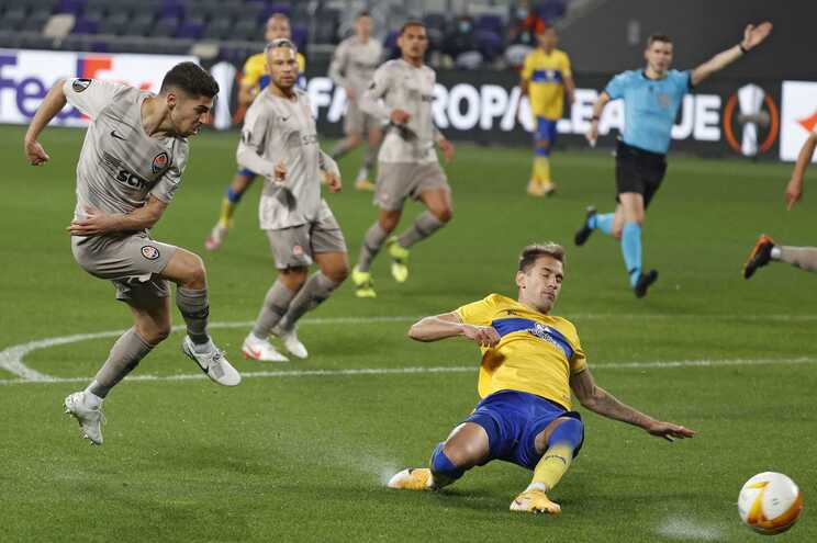 Shakhtar Donetsk venceu o Maccabi Telavive