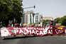 """""""Não há gota para esta palhaçada"""": protesto contra preço dos combustíveis em Lisboa"""