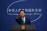 Zhao Lijian, porta-voz do ministério dos Negócios Estrangeiros da China,