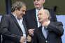 Michel Platini e Josef Blatter