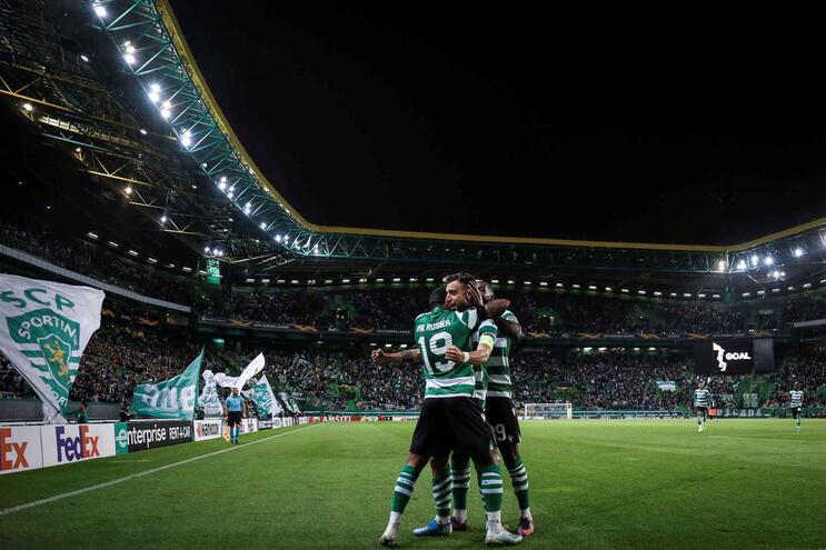 O Sporting conseguiu o resultado mais expressivo das equipas lusas