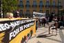 Manifestação contra o racismo e o fascismo em Lisboa