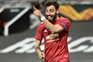Bruno Fernandes brilhou na goleada do Manchester United à AS Roma