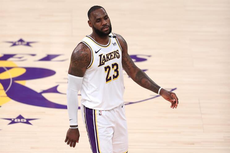 LeBron James foi quatro vezes eleito o melhor jogador da NBA