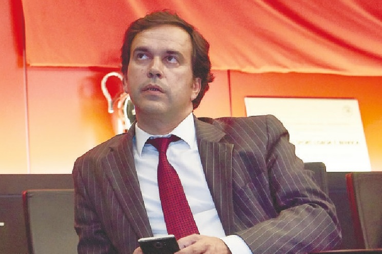 Miguel Moreira é diretor financeiro na administração da SAD do Benfica