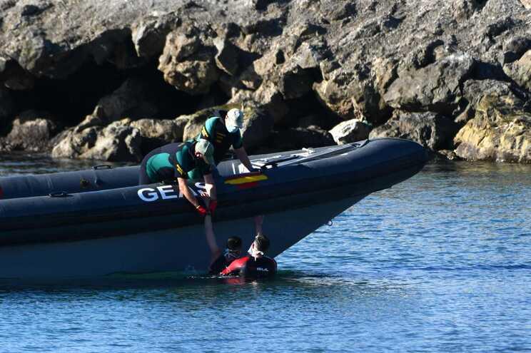 Esta chegadas irregulares a Ceuta não são inéditas