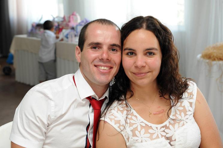 Carlos Silva e Rita Antunes foram vítimas de um choque em cadeia em França