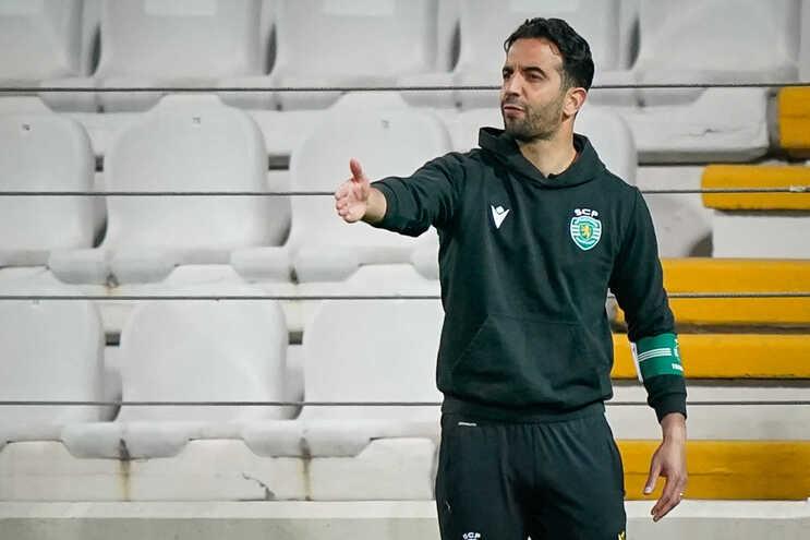 Ruben Amorim foi expulso no jogo com o Famalicão