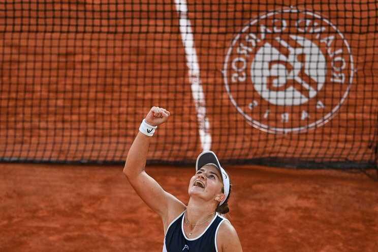 Tenista checa Barbora Krejcikova é finalista de Roland Garros