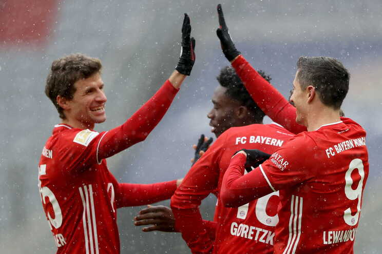 O Bayern Munique venceu este domingo