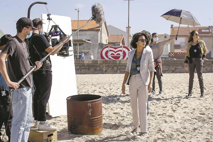 JN acompanhou rodagem em Espinho da série da RTP, que tem no elenco Ana Padrão, Jani Zhao ou Tiago Sarmento