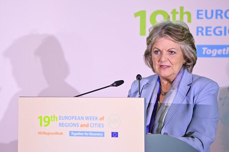 Elisa Ferreira falou sobre fiscalização de fundos à margem da Semana Europeia das Regiões e Cidades,