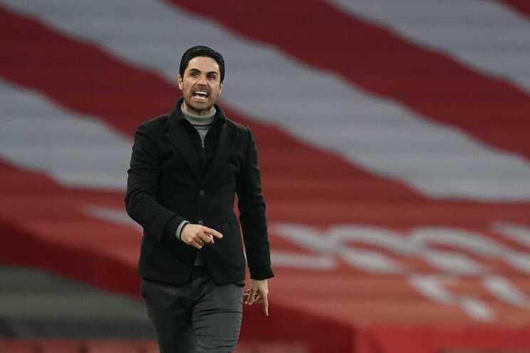 Mikel Arteta, treinador do Arsenal