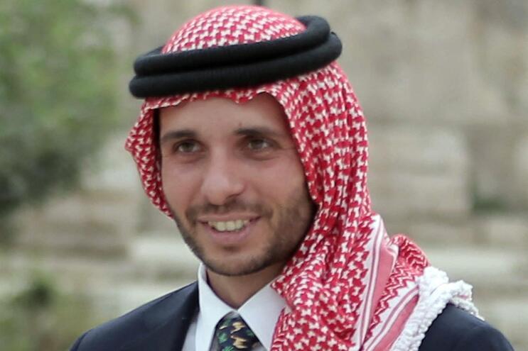 O ex-príncipe herdeiro da Jordânia, Hamzah bin Hussein