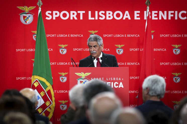 Luís Filipe Vieira, presidente do Benfica