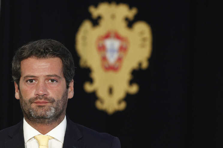O presidente do partido Chega, André Ventura