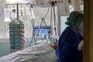 Doentes transferidos para unidades de retaguarda para libertar hospitais