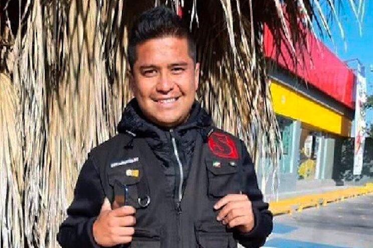 Israel Vázquez Rangel, de 31 anos, foi encontrado pela polícia gravemente ferido