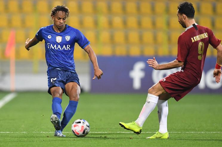 Peruano André Carrillo joga no Al Hilal